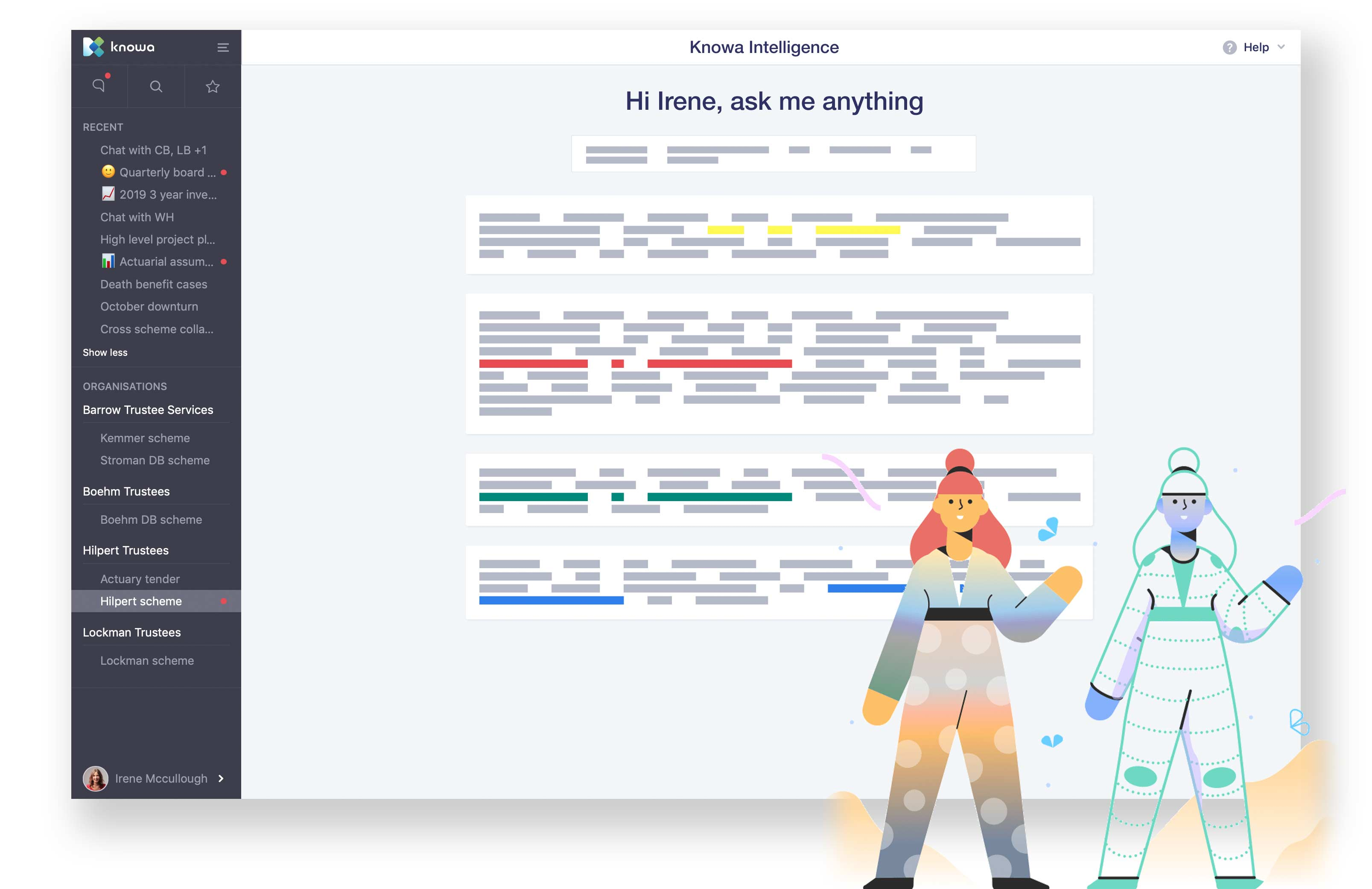 Ask Knowa anything